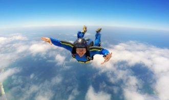 SkyDiving 120mph Plus Adrenaline Rush