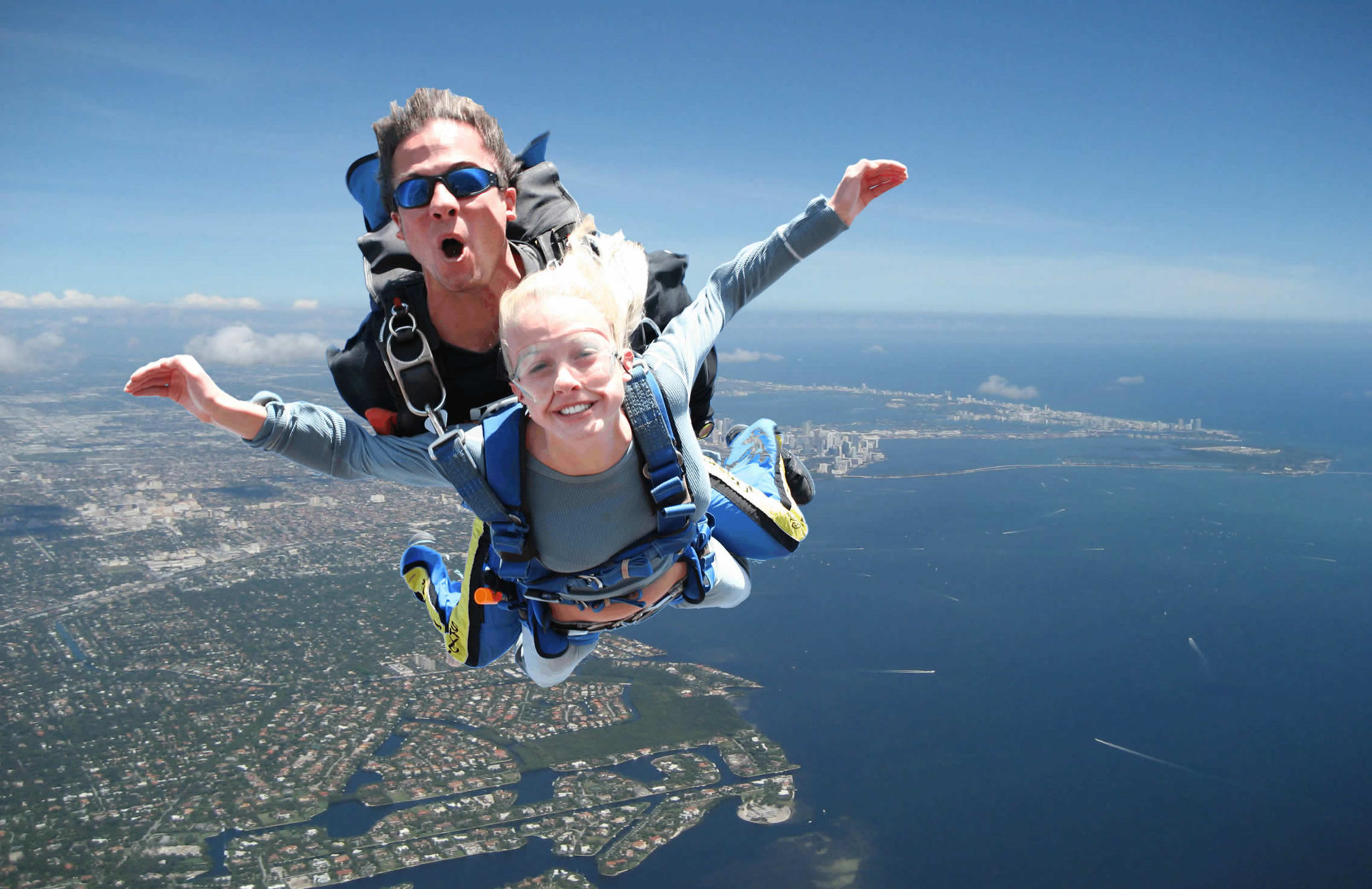 Skydiving May Not Be For Everyone But What a Rush!